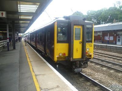 Letchworth, Sandy and East-West Rail Walk, 29 June 2013