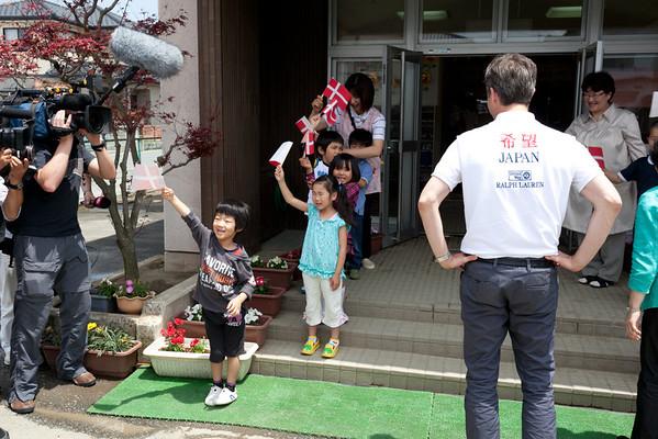 Event 2011 HRH Crown Prince Frederik Higashi-Matsushima Kindergarten
