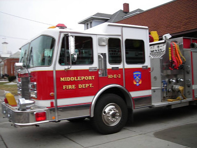 Middleport Fire Co in New York donates Truck to Middleport Fire Co in PA, SUBMITTED PHOTOS (3-23-2014)