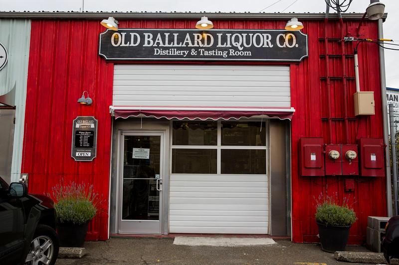 Herrings Bord at Old Ballard Liquor Co