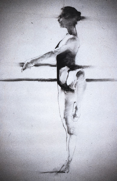 Study for Royal Ballet Student II (c1980s)