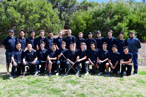 TP Golf Team 2018