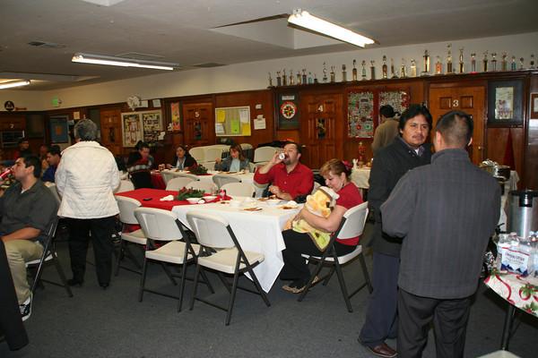 Banquete Navideño del ministerio de Alabanza
