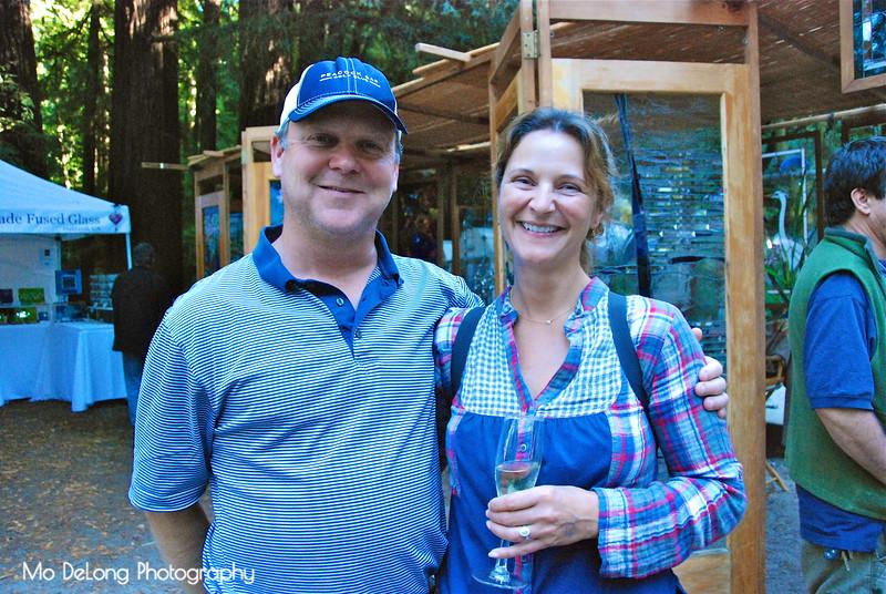 Jim Boyle and Sasha Faulkner
