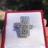 2.40ctw Art Deco Old European Cut Diamond Geometric Dinner Ring 21