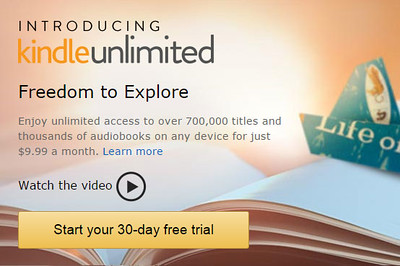 Kindle Unlimited: Unlimited access to travel guidebooks on all your devices