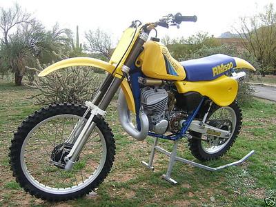 1983 Suzuki RM500 MotoCross