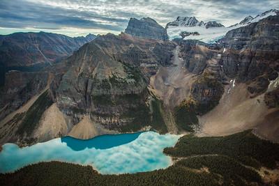 Valley of the Ten Peaks, Banff National Park, Alberta, Canada.