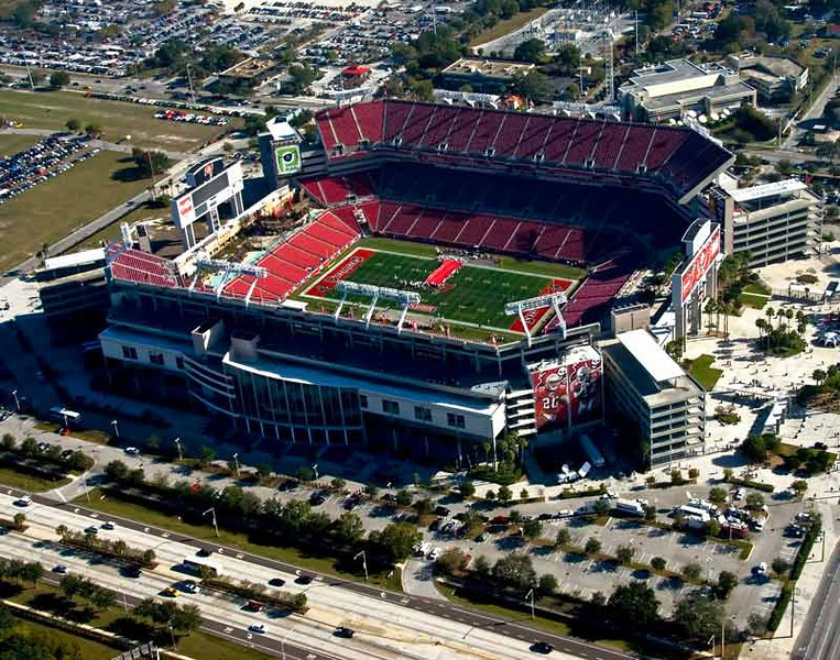 Raymond James Stadium Before their loss to the GIANTS!!!!