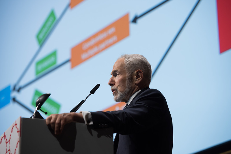22nd International AIDS Conference (AIDS 2018) Amsterdam, Netherlands   Copyright: Marcus Rose/IAS  Photo shows: STI 2018. Speaker: Ken Mayer.