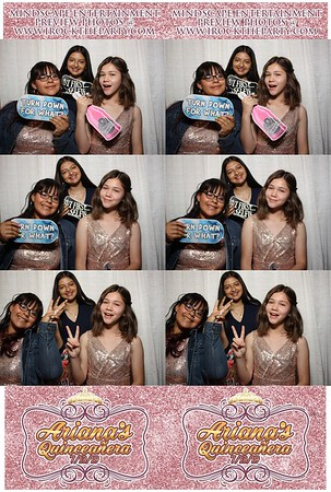 Ariana's Quinceanera - Photo Booth Pictures