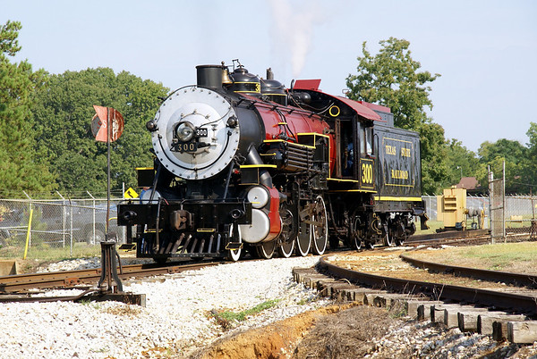Texas State Railroad Dedication Engine #300