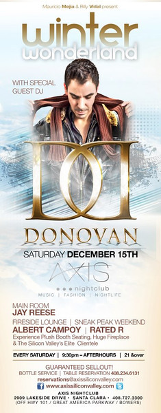 Winter Wonderland @ AXIS Nightclub 12.15.12