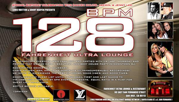 Louie Vuitton & Sonny Nguyen Presents 128 BPM @ Fahrenheit Ultra Lounge 7.12.07