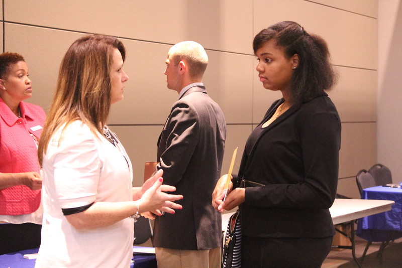 On Wednesday, April 7th from 1:00-3:00, Gardner-Webb students came to the Career & Internship Fair in the Tucker Student Center.