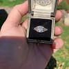 1.11ct Old European Cut Diamond Filigree Ring 20