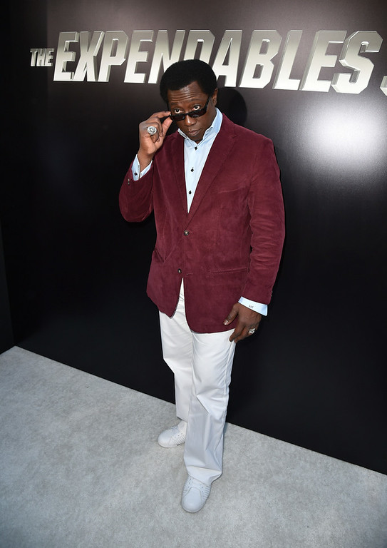 ". Actor Wesley Snipes attends the premiere of Lionsgate Films\' ""The Expendables 3\"" at TCL Chinese Theatre on August 11, 2014 in Hollywood, California.  (Photo by Kevin Winter/Getty Images)"