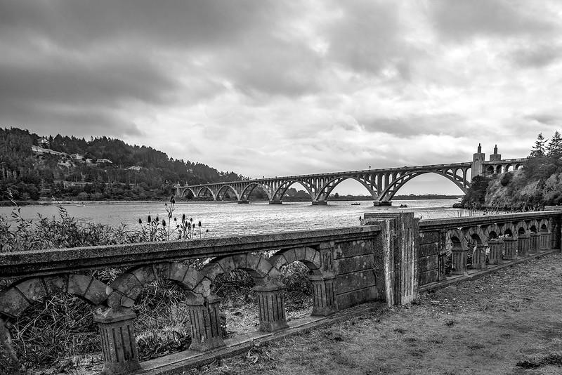 107.Ken Wilkes.1.Rogue River Bridge.jpg