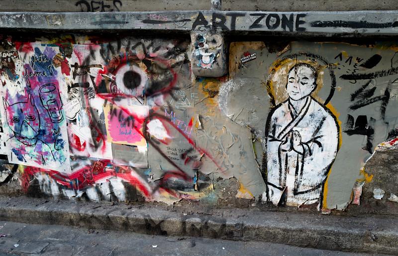 Graffiti Wall near Pike Place Market