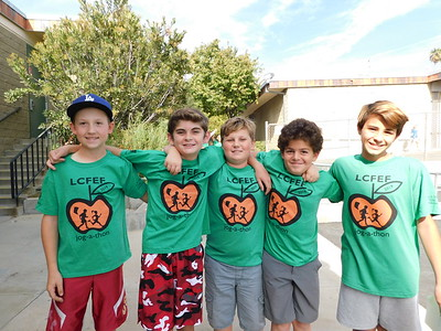 LCE Kids Pick Up Pace for Jog-a-Thon