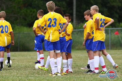 BU15 Blue - Ponte Vedra Storm Boys Gold - Fusion FC Blue