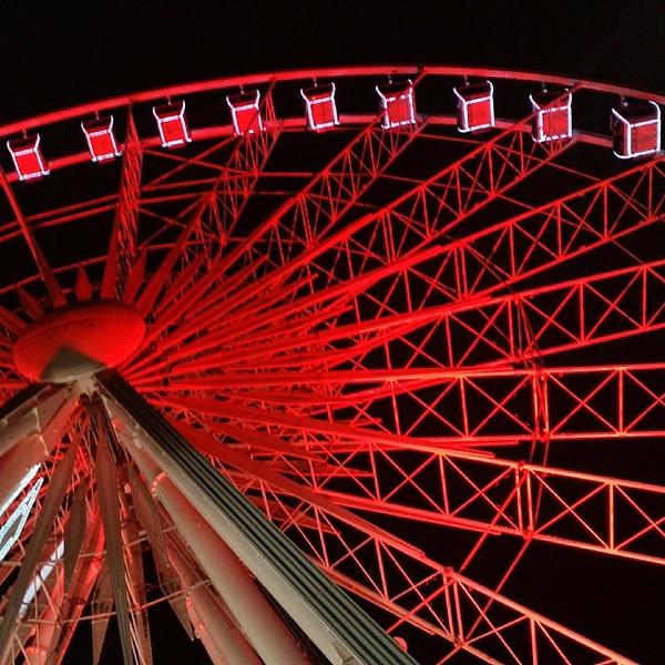 Atlanta Ferris Wheel #atl