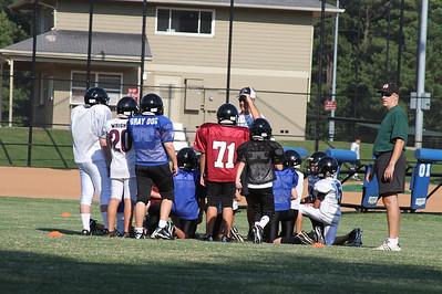 Ramsey's 5th Grade Falcons - 8/12/11 Practice