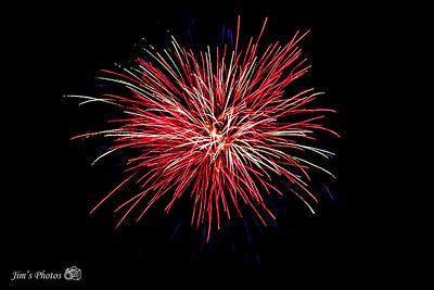 Fireworks - Anchor Inn - July 10, 2021
