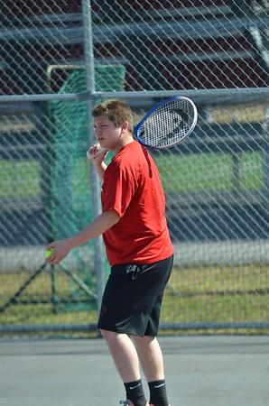 Boys tennis vs IR 4-16-15