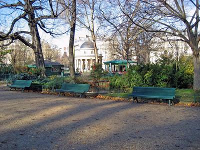Parc  de Monceau and Villiers