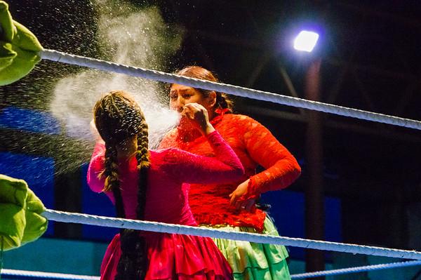 Cholitas zápasy