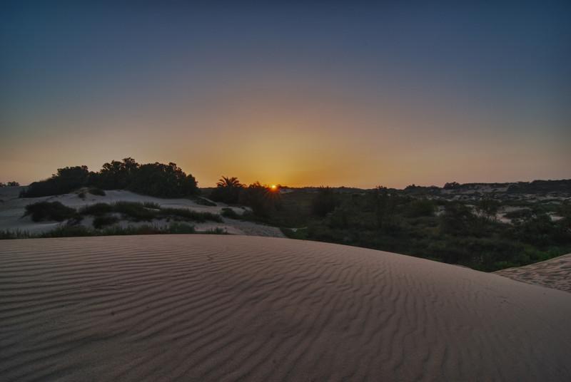 Sunrise @ Nitsanim beach