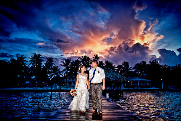 Kim & Korey - Wedding - Belize - 5th of August 2017