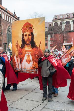 Marsz dla Jezusa króla Polski