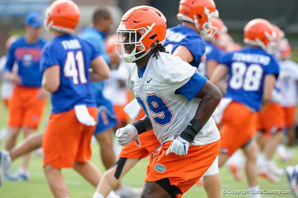 Florida Gators Football Fall Practice Day 2