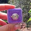 2.85ct Antique Cushion Cut Diamond Halo Ring 5
