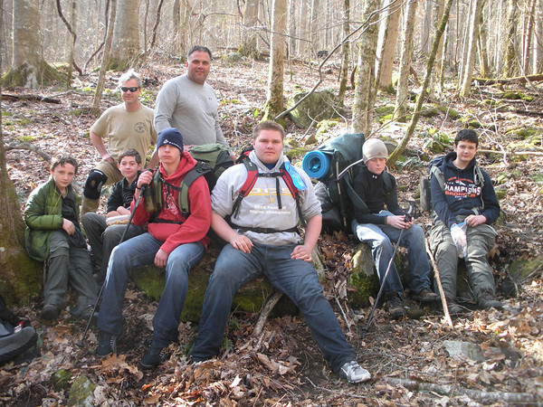 Fontana Dam Backpacking Trip