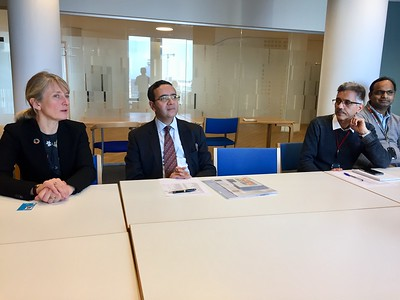 2018-02-Indian Ambassador meeting in UN City