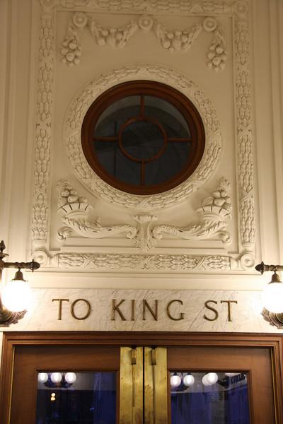 King Street Station.