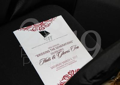 NCBW 100 Black Women Hat and Gloves Tea 2017