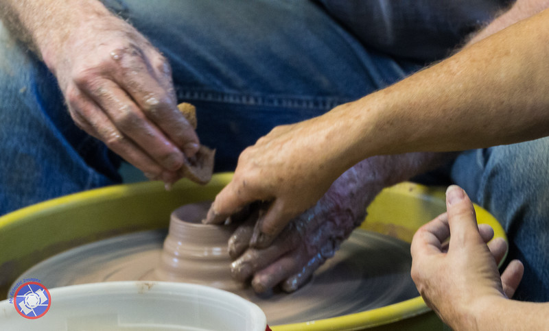 John Keddy of Rocky Hill An Almost Completed Pot (©simon@myeclecticimages.com)