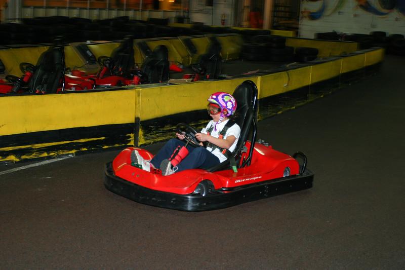 Anisa picking up speed.