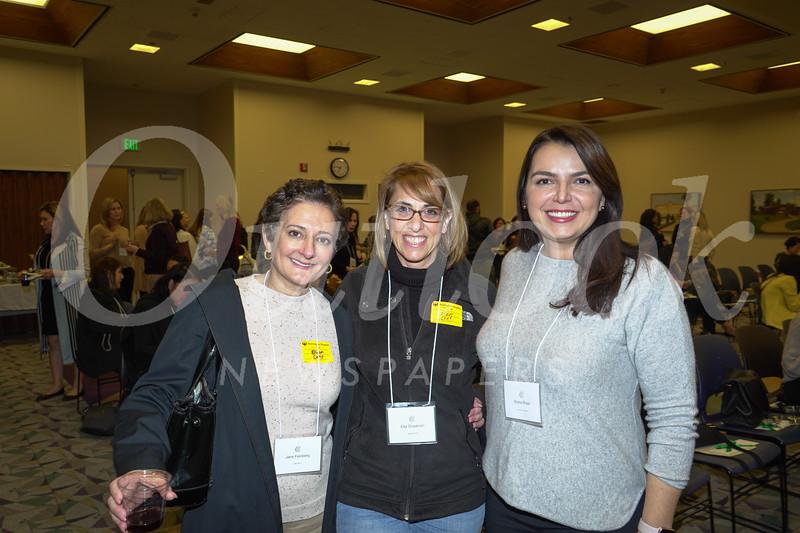 Jane Feinberg, Ella Shadmon and Sheila Rossi