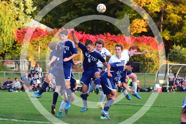 CBA vs Middletown South Boys Soccer 2015