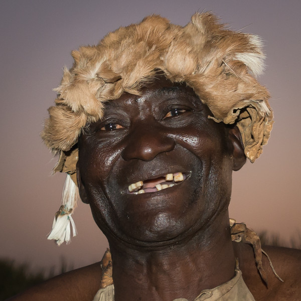 Jackson at Jao Camp, Botswana