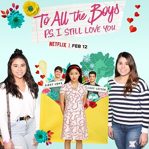February 04, 2020 - To All The Boys P.S. I Still Love You Houston Screening
