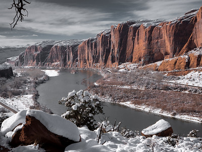 Moab in Winter