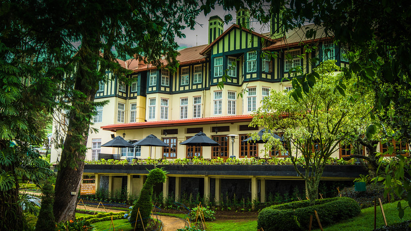 The original building, a single storey bungalow, called 'Barnes Hall', was constructed as the holiday residence of Sir Edward Barnes, the fifth Governor of Ceylon (1776-1838). It was rented to his successor as Governor, Sir Robert Wilmot-Horton. On 12 April 1892 it was sold to the Nuwara Eliya Hotels Company Limited. The total area, which was in three separate lots amounted at approximately 27 acres. (wiki)