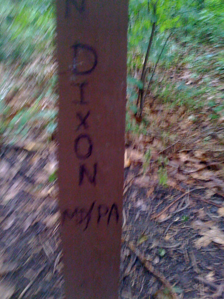 AT Mason - Dixon Line Marker