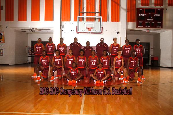 2018-2019 Boys Varsity Basketball